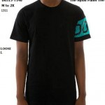D0315-T140_The Nylon Panel Tee in Teal